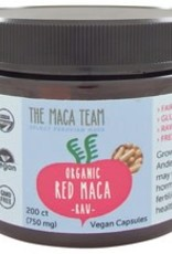The Maca Team Red Maca Caps, CO, 750mg 200 ct