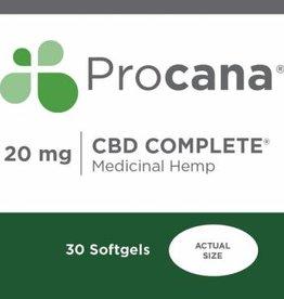 Procana Procana CBD Complete (20mg) 30 softgels