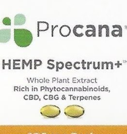 Procana Procana HEMP Spectrum+ (50mg) 2 softgels