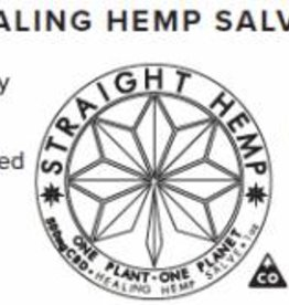 Straight Hemp CBD Salve 500 mg CO Full Spectrum