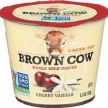 Brown Cow YOGURT,CRM TOP,CHERRY,VAN