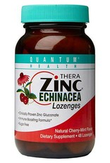 Quantum Health Quantum Cold Season Plus+ Zinc Echinacea Cherry Lozenges