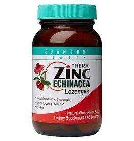 Quantum Health Quantum Cold Season Plus+ Zinc Echinacea Cherry Lozenges