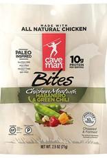 Caveman Foods Habanero Green Chili Chicken Bites 2.5 oz.