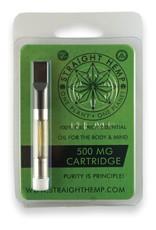 Straight Hemp CBD Vape Oil 510 Cartridge 500 mg CO Full Spectrum