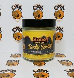 Oxx Beekeeping Honey Touched Body Butter, 4.0 oz
