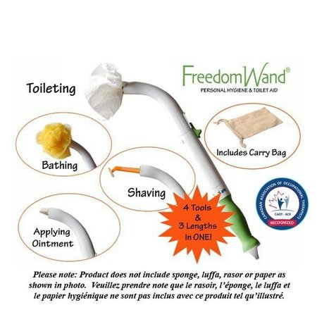 PARSONS ADL FREEDOM WAND – Personal Hygiene & Toilet Aid