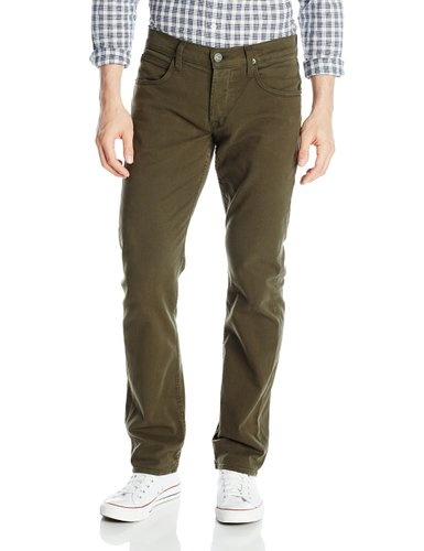 Hudson Byron 5 Pocket Straight, Hemlock Green