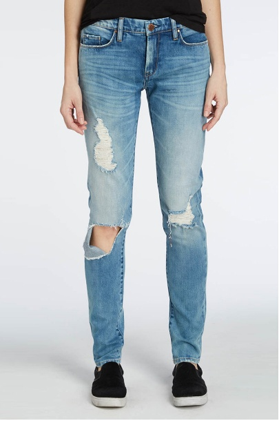 BlankNYC Skinny Classique Destroyed Jeans