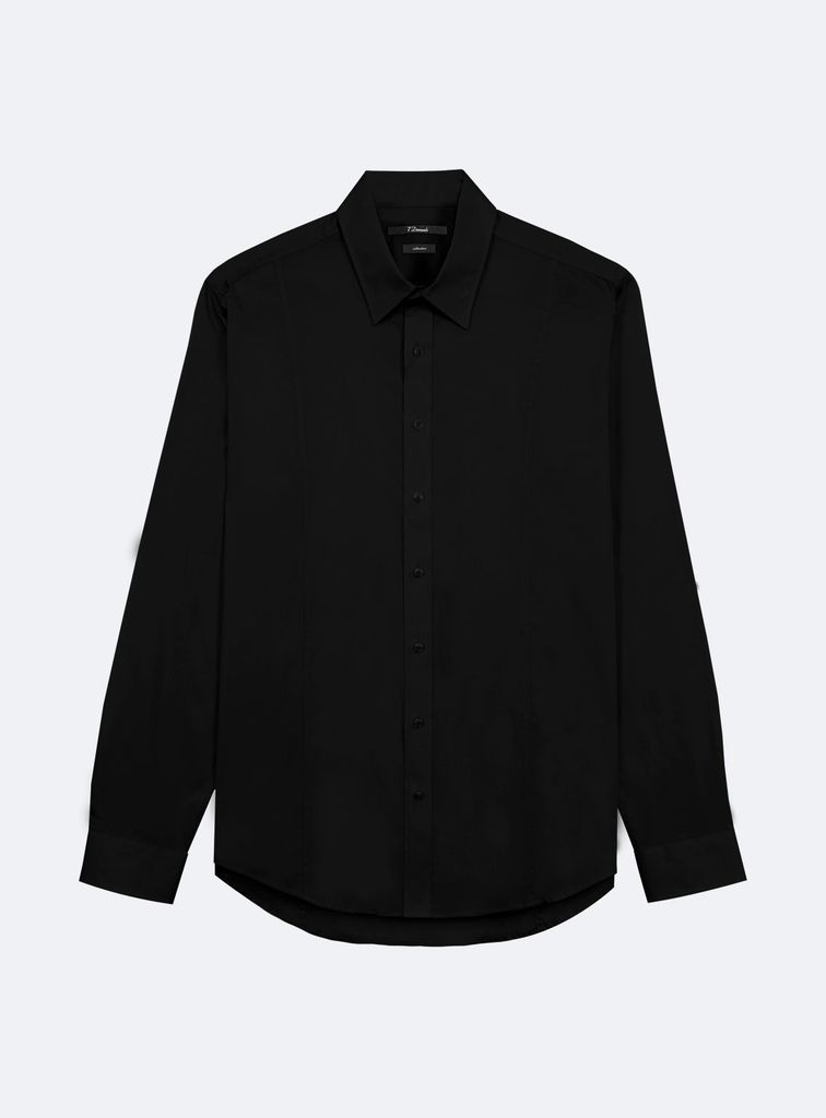 7 Diamonds London By Night solid button down
