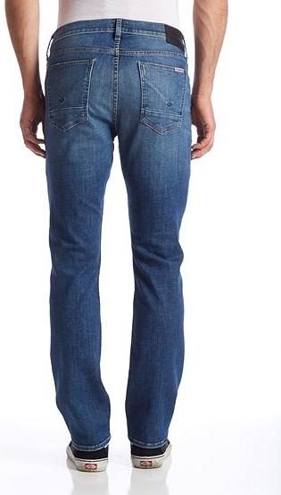 Hudson Byron 5 Pocket Straight in Banshee