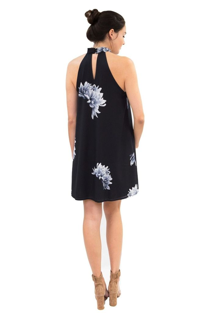Shilla The Label Ultimate Floral High Neck Dress