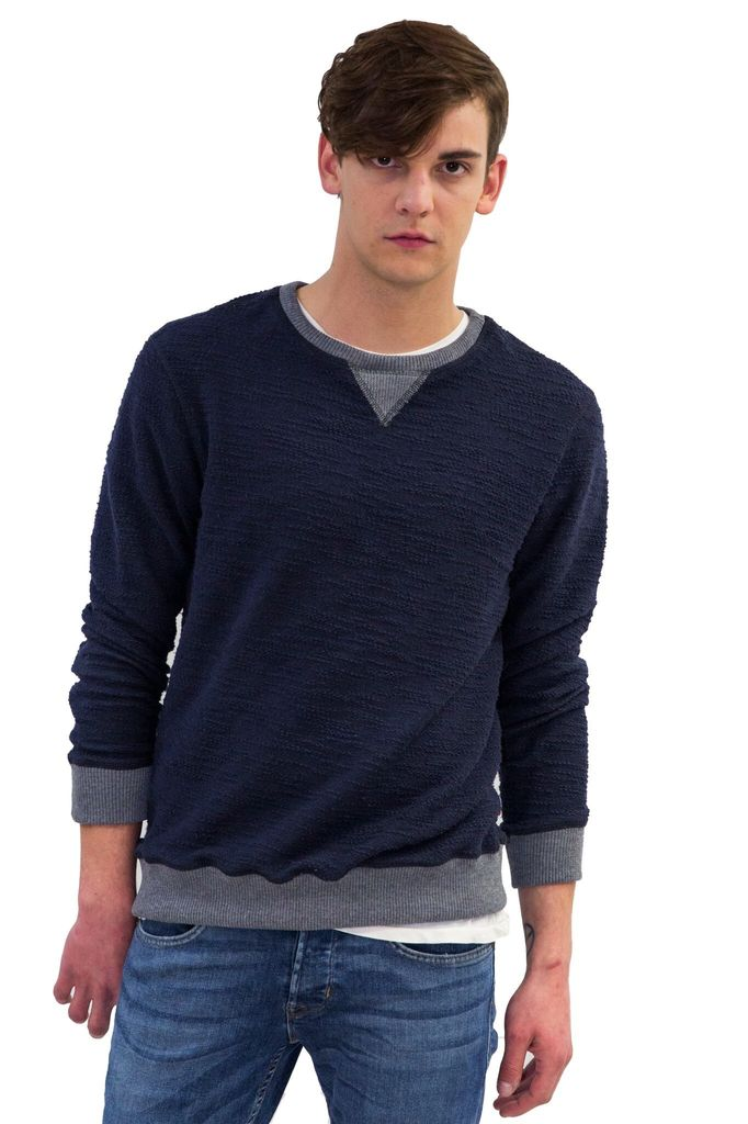 Sol Angeles Boucle Pullover Deep Sea