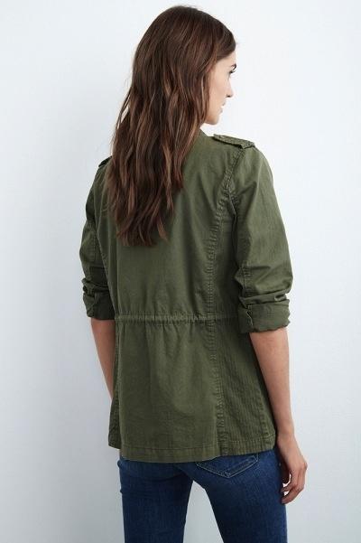 Velvet Women Ruby Army Jacket