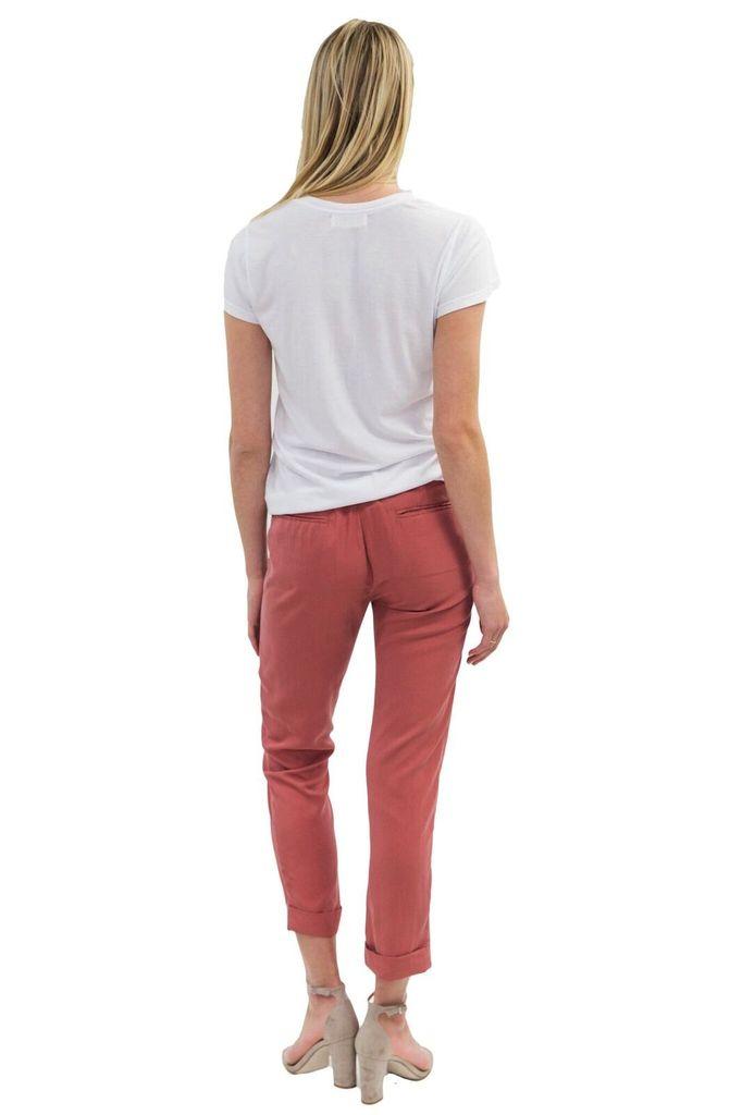 SEE YOU SOON Burnt Brick Short Pants