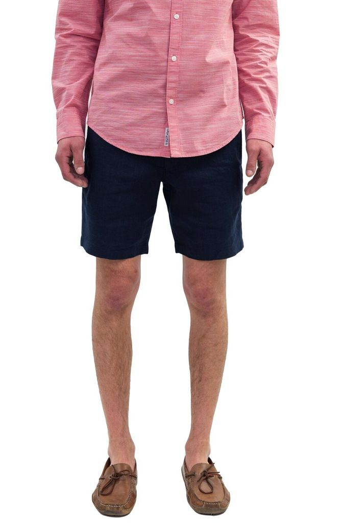 Original Penguin Dark linen shorts