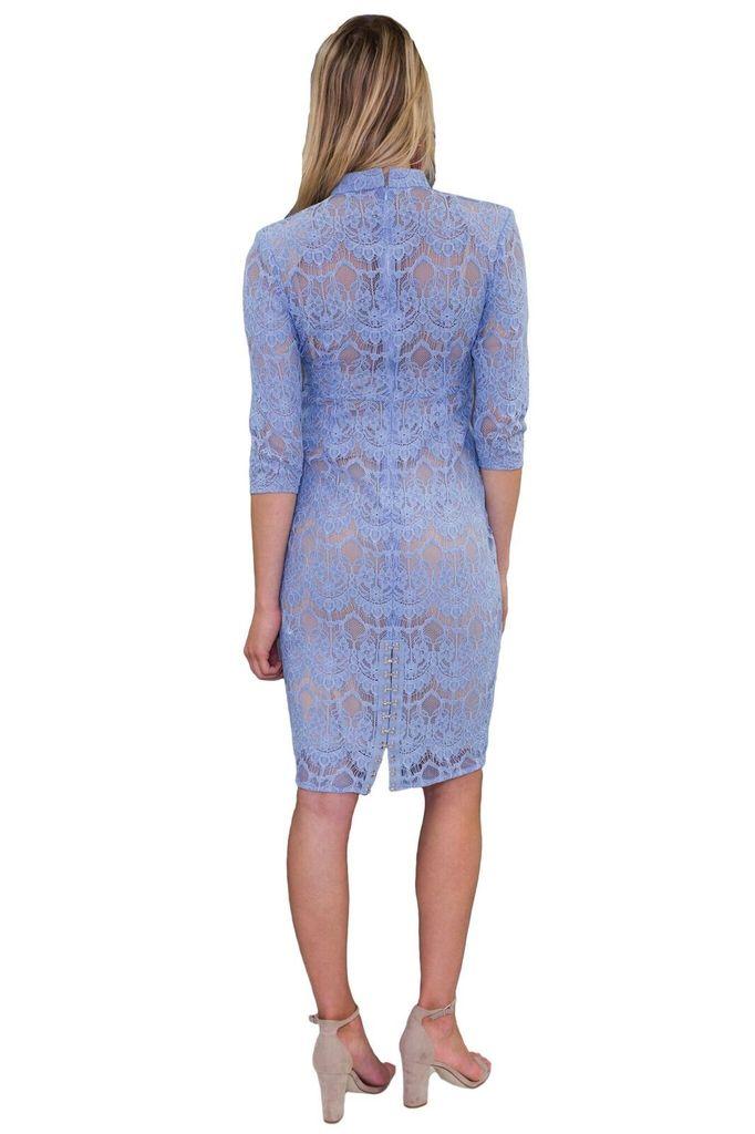 Forever Unique Sammie Pale Blue lace dress