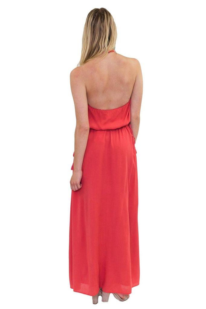 JETSET DIARIES Golden Island Maxi Dress
