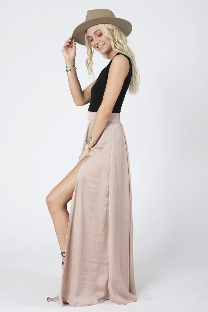 STILLWATER The Forever Summer Skirt in Blush