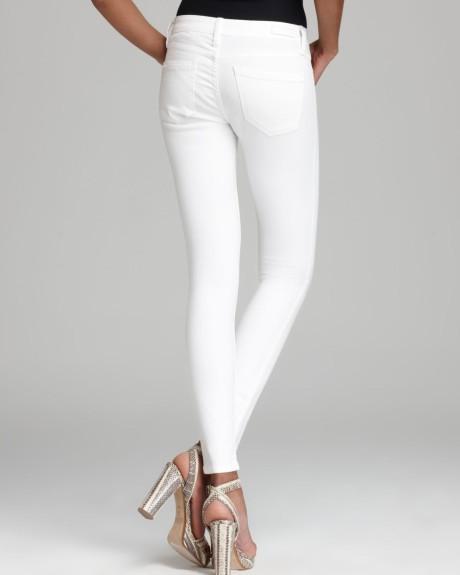 BlankNYC White Lines Skinny Jeans