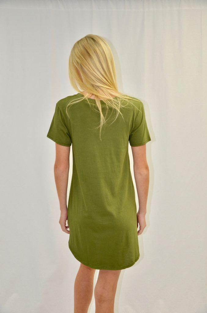 BOBI Pocket T-shirt Dress