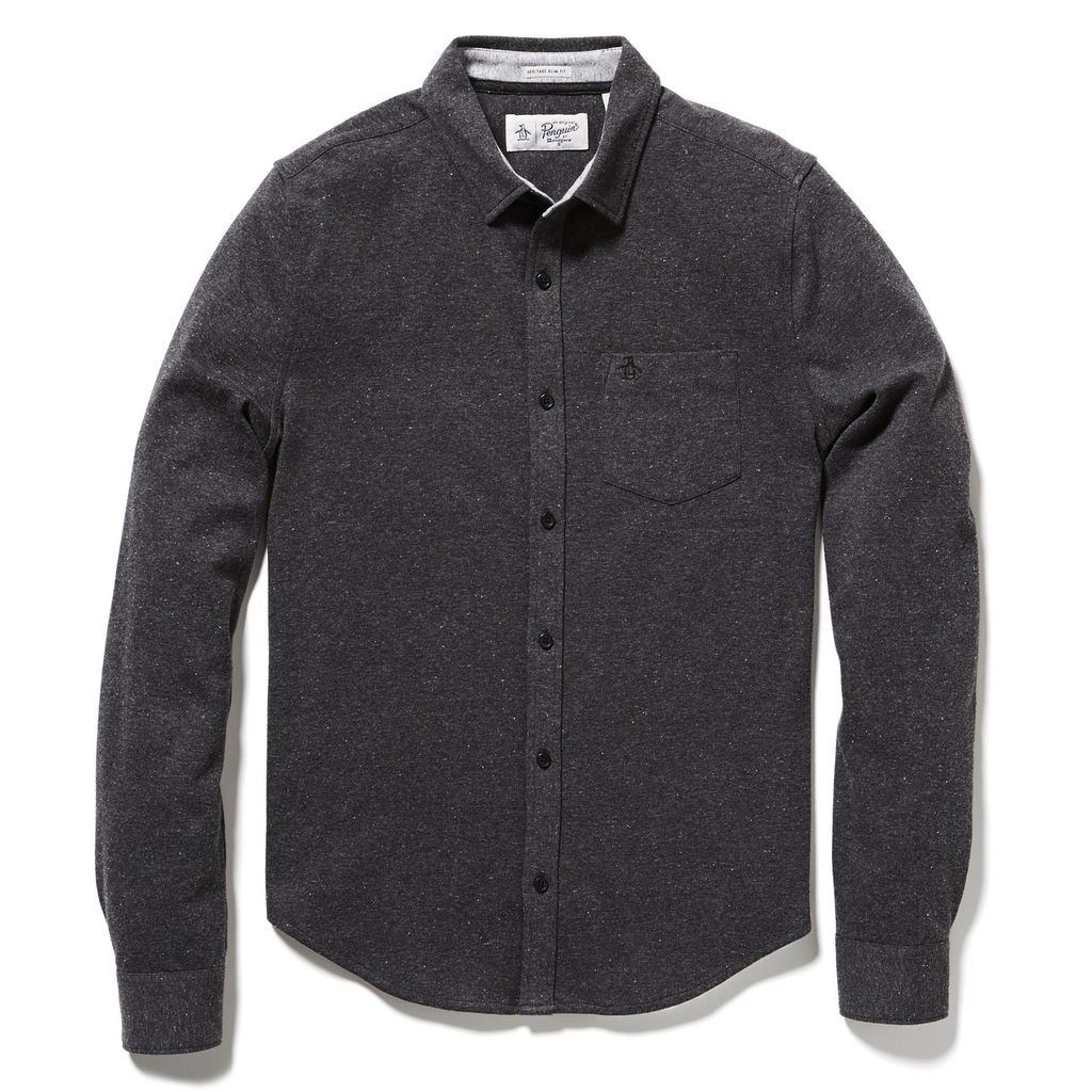 Original Penguin Knitted Nep Shirt
