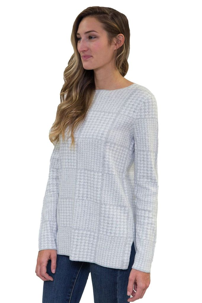 OST Toni Plaid Pull Over Sweater