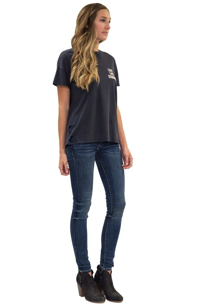 Love Like Summer by BILLABONG By Your Grace Destroyed Tee
