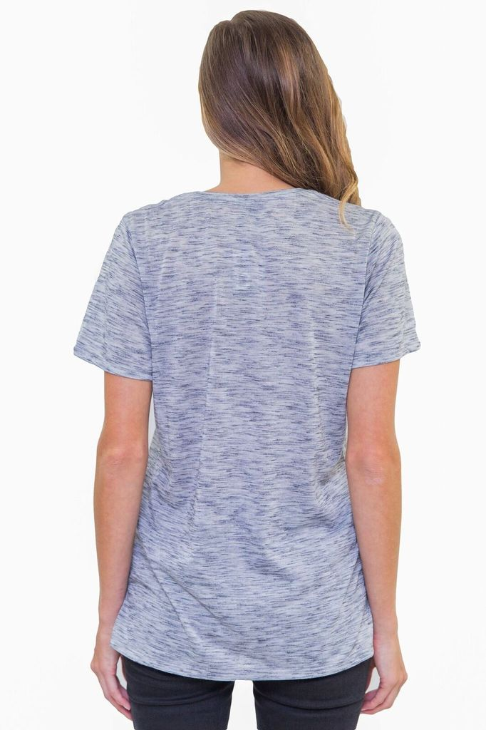 BOBI Grey Pocket Tee
