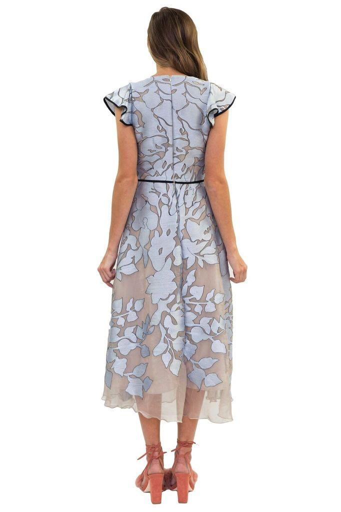 Hunter Bell Seyer Winter Floral Dress
