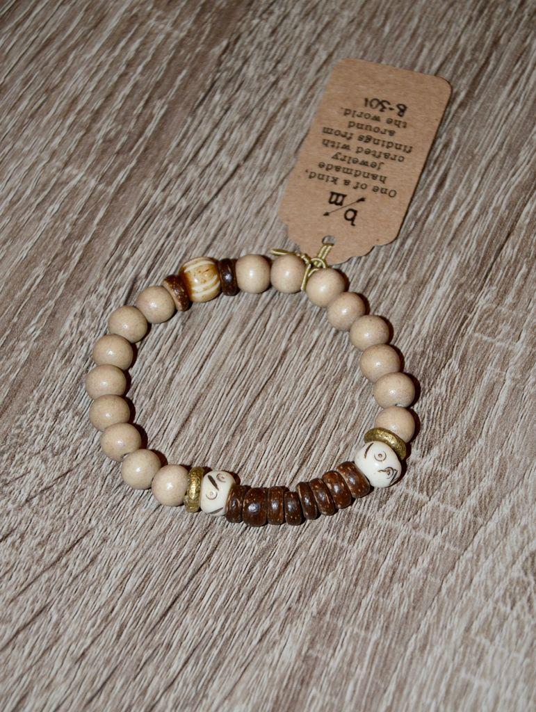 burnmark Tribal Bracelet - Batik