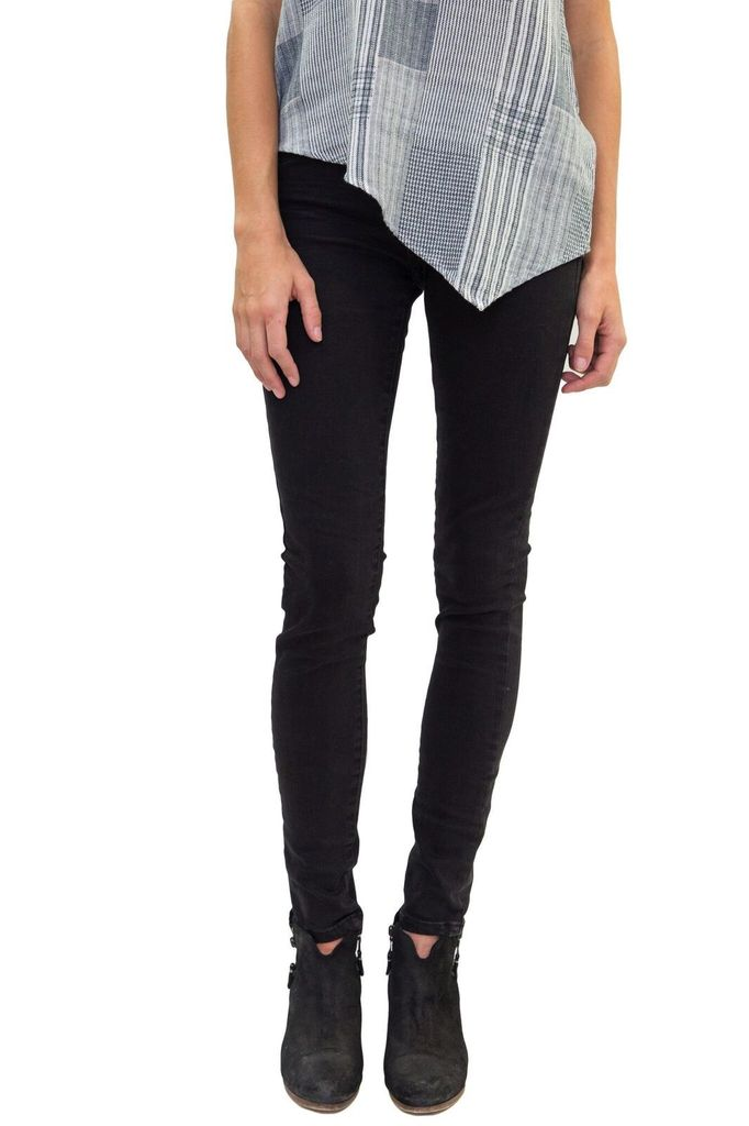 BlankNYC Black In Mind Black Skinnies