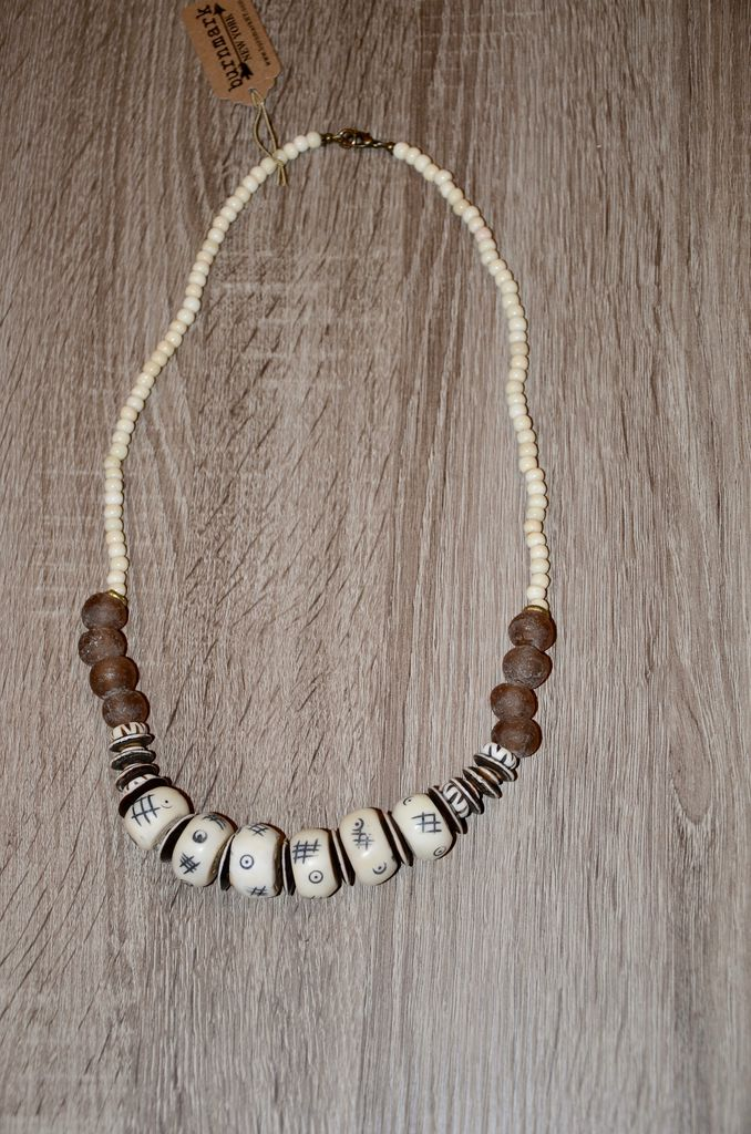 burnmark Leroy Necklace - Almond