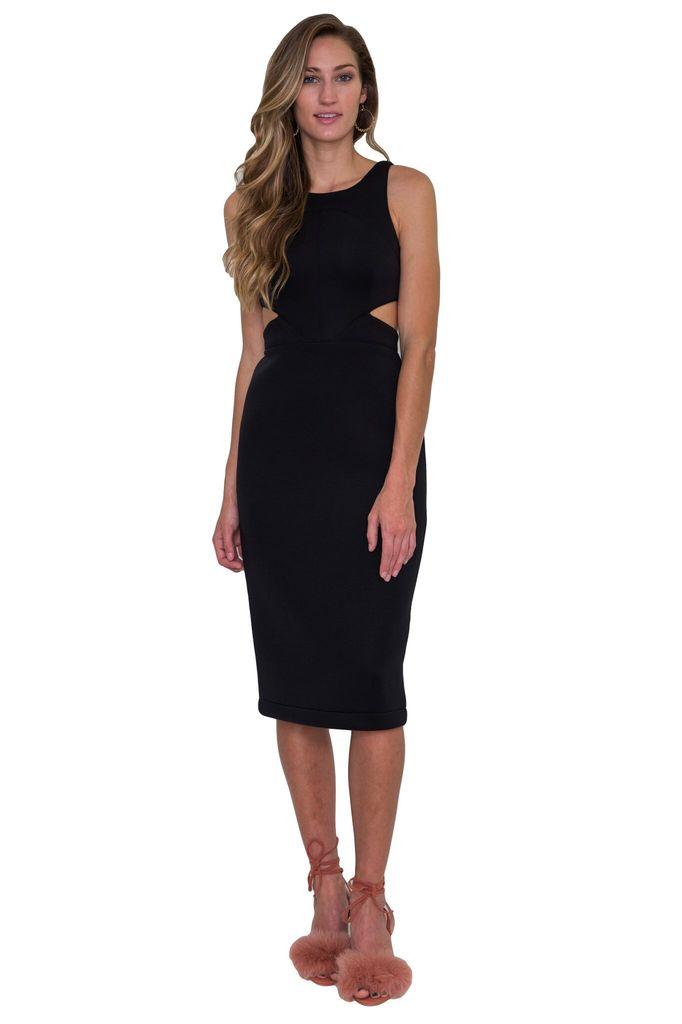Hunter Bell Porter Dress in Black