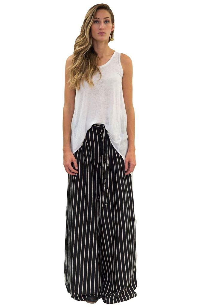 Love Like Summer by BILLABONG Wide Leg Striped Linen Pant