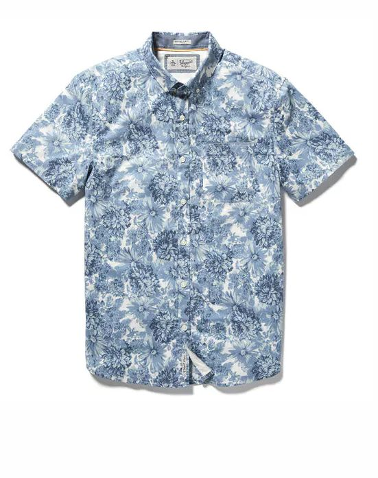 Original Penguin Floral Stretch Shirt