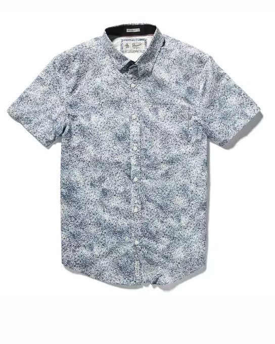Original Penguin Spray Print Stretch Shirt