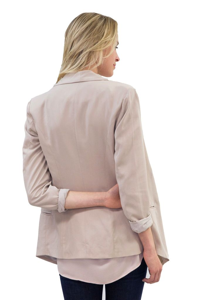 WISH Proxy Blazer in Nude