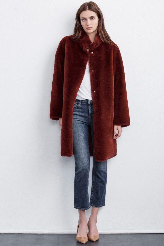 Velvet Women Mina Lux Fur Coat