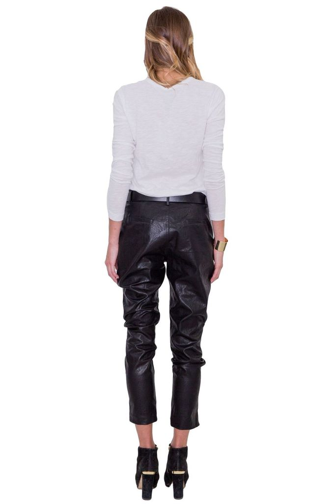 MAAC London Roza faux leather pant