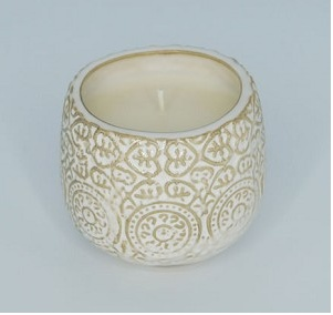 Sweet Wick Luis Vessel in White Pumpkin Spice
