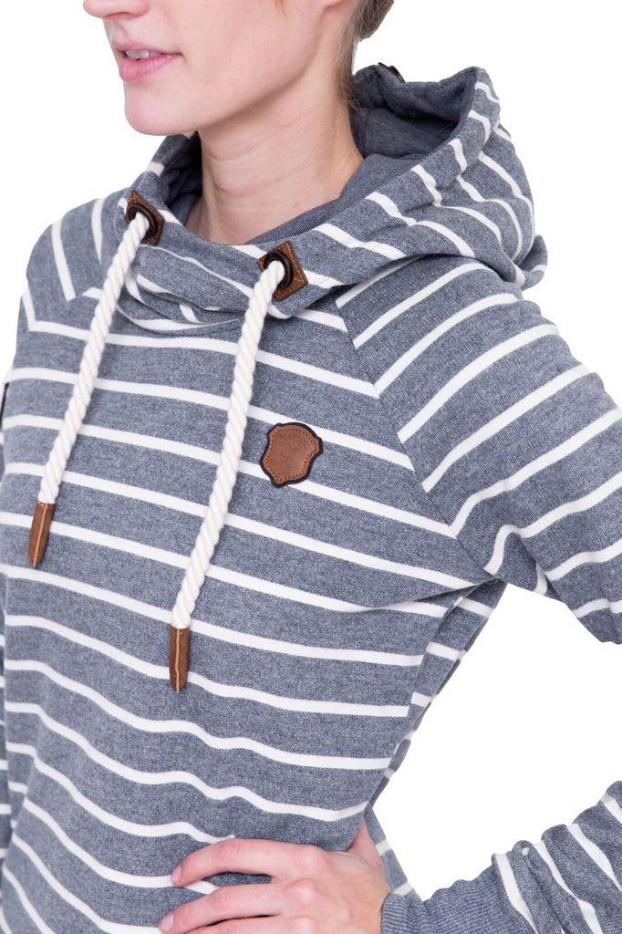 NAKETANO Rap Magelan Striped Hoodie