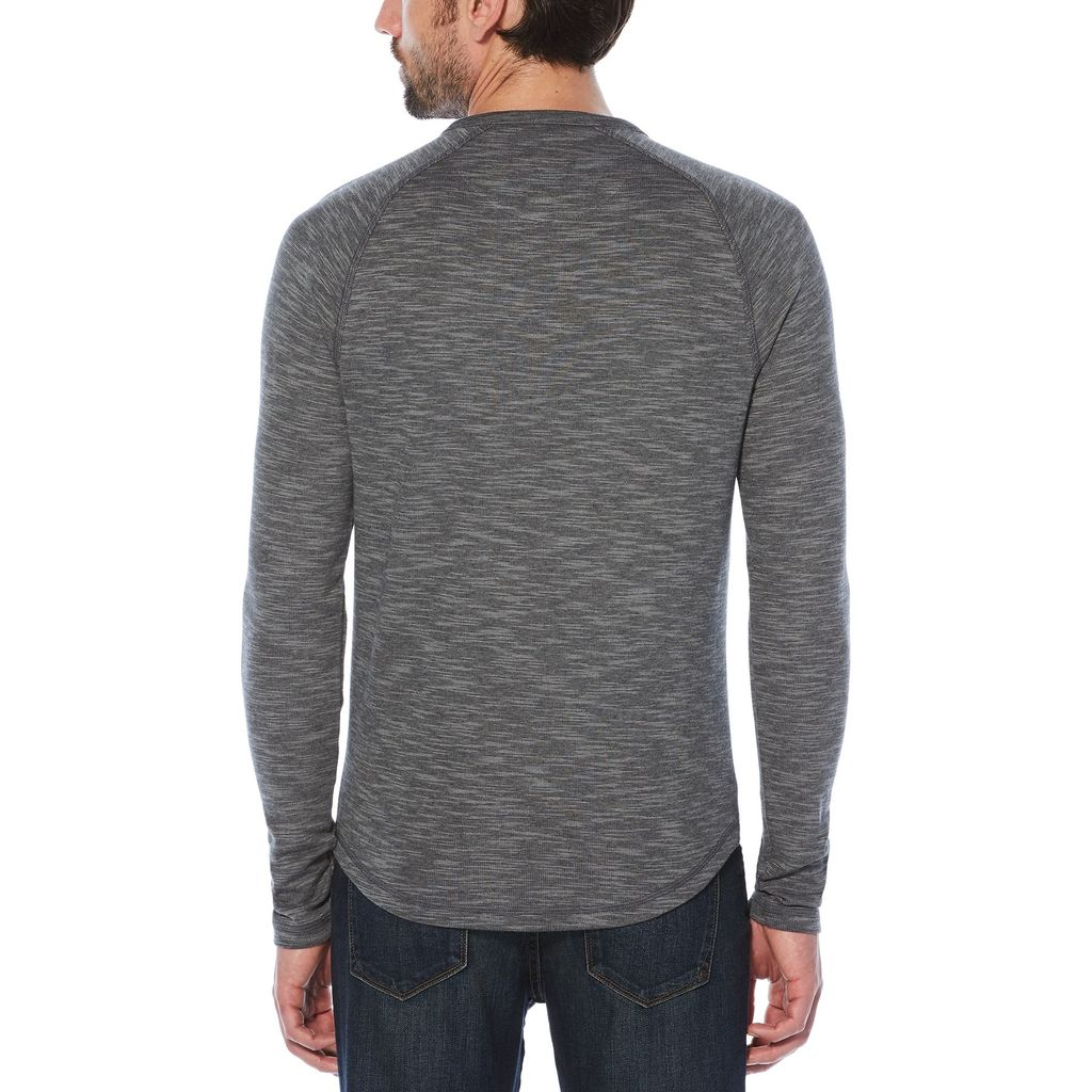 Original Penguin L/S Slub Double Knit Henley