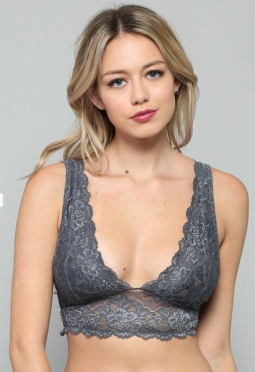 By Together Plunge Double V-Neck Bralette