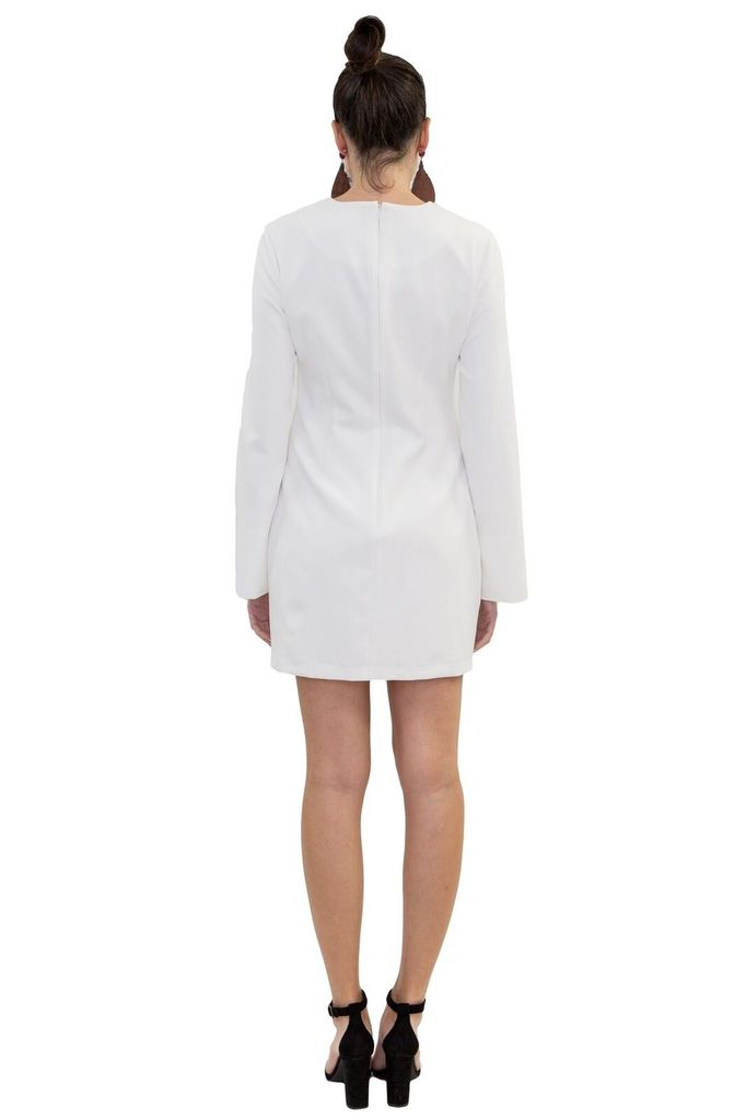 MAAC London Lennox White Dress