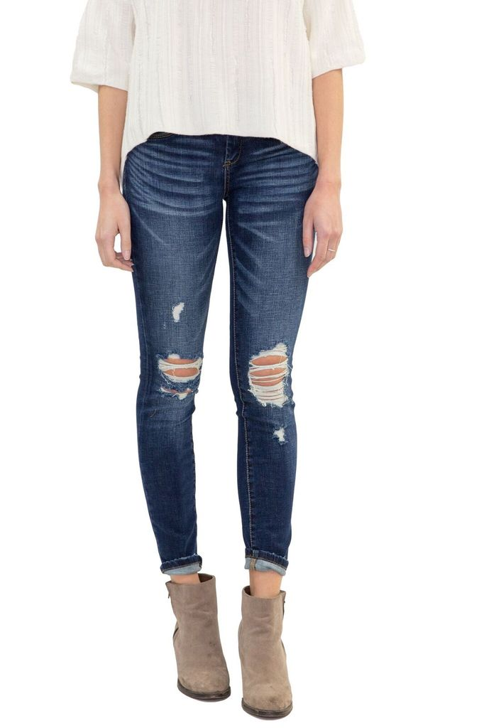 BlankNYC Cult Classic Destroyed Jean