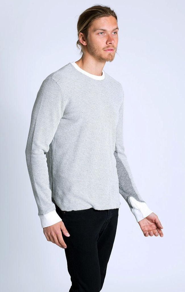 Sol Angeles Two Tone Thermal Crew