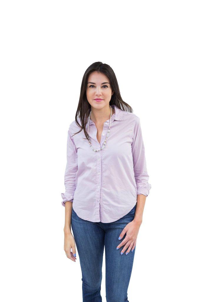 Velvet Women Minnie Button-Down Cotton Shirt by Velvet