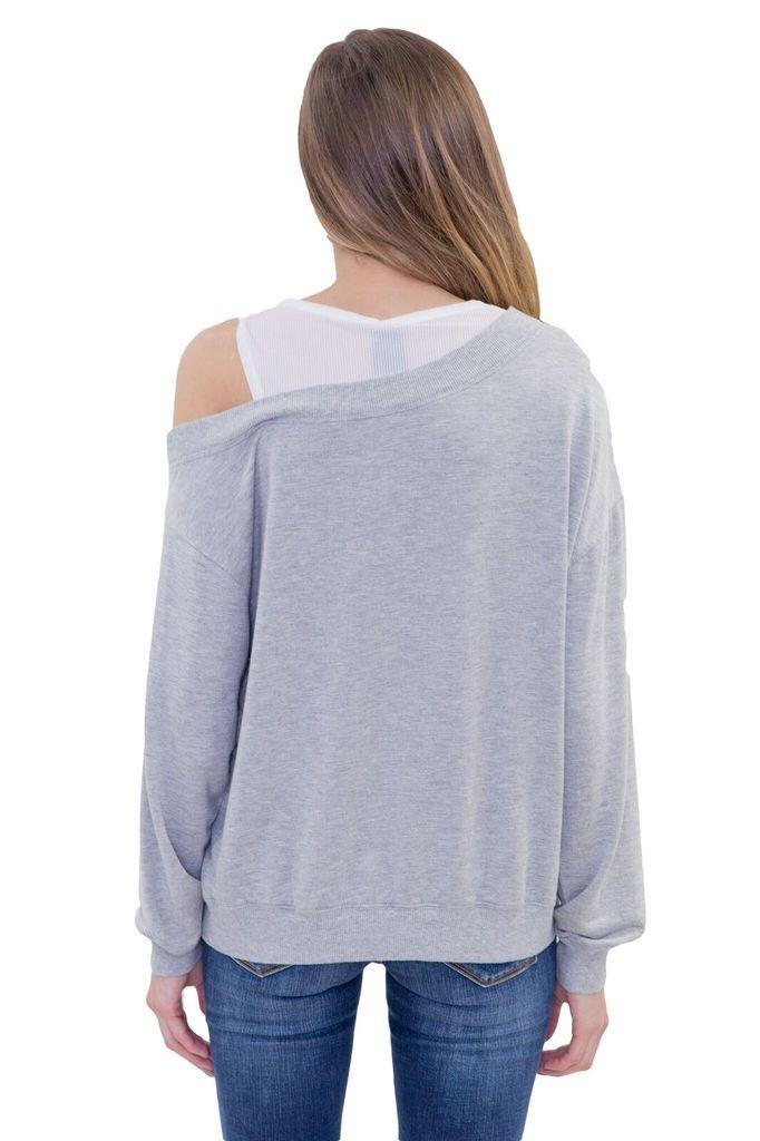 BOBI Mesh Layer Sweatshirt