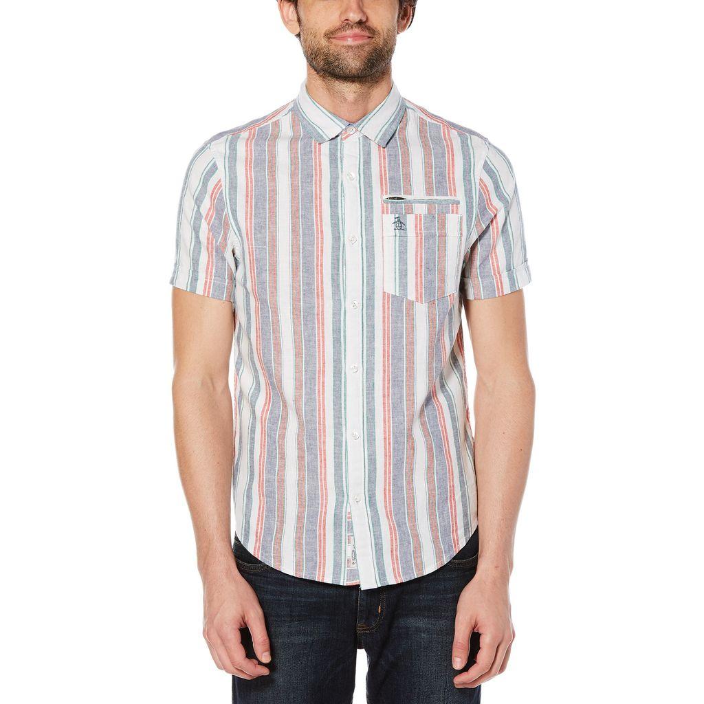 Original Penguin Bold Vertical Stripe Shirt